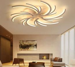 2018 Lebende Decke Führte Minimalistische Kreative Moderne LED  Deckenleuchten Für Wohnzimmer Schlafzimmer Weiße Farbe Home