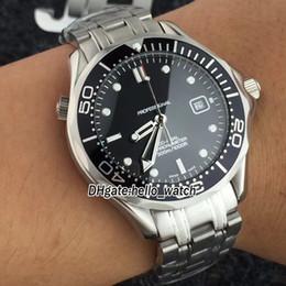 2019 черные часы водолазного дайвера Diver 300M Соосный дешево черные часы водолазного дайвера