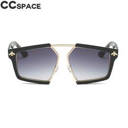 2019 sexy sport sonnenbrille 2018 Luxus Golden Bee Sonnenbrille Frauen Rechteck Sexy Shades UV400 Große Rahmen Vintage Marke Brille Mode Oculos 47732 rabatt sexy sport sonnenbrille