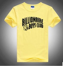 Wholesale Club Organic - US drama Billionaire boys club with the tide brand men's cotton round neck printing T-shirt summer new