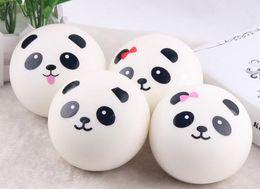 Handy-paarung online-Niedlicher 4cm Panda Squishy Kawaii Brötchen-Brot-Charme-Beutel / Schlüssel / Handy-Bügel verbinden gelegentliches weiches Panda Squishy Brot Semll