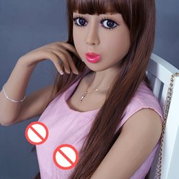 Wholesale Silicone China Sex Doll - 140cm China sex toys manufacture factory real silicone sex dolls for men the lowest price and best service for you