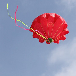 Fallschirmsportspielzeug online-Lustige Fliegen Regenschirm Spielzeug Mini Hand Werfen Fallschirm Für Outdoor-sportarten Kinder Lernspielzeug Neue Ankunft 5hk B