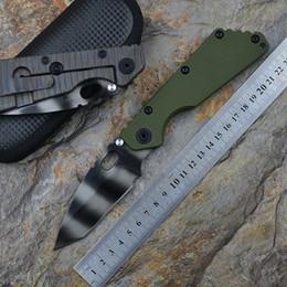 Navy navy online-Y-START SMF Cuchillos tácticos RW-1 NAVY Tanto Rogue warrior warrior S35VN blade G10 + TC4 Textura de llama Mango Cuchillo de supervivencia para exteriores