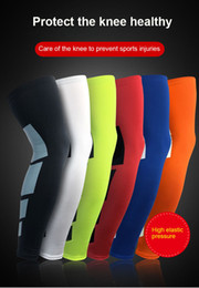 8fd45274ee Super Elastic Lycra Basketball Leg Warmers Calf Thigh Compression Sleeves  Knee Brace Soccer Volleyball Cycling