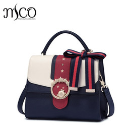 8fac4c574b8b 2017 Famous Brand Design Bowknot Shoulder Bag For Girls Preppy Style Luxury  Handbag Cute Messenger Bags Leather Bolsa Feminina