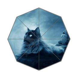 Wholesale umbrellas custom - Lovely cat Custom Umbrella Fashion Design Umbrella For Man And Women High Quality Free Shipping Hot Sale LUQI -# bs939
