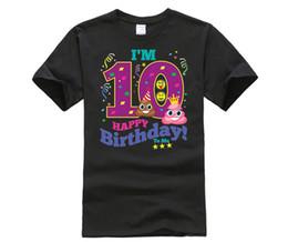 China Poop Emoji Happy 10th Birthday Shirt For Boys Girls Gift Cheap Boy Suppliers