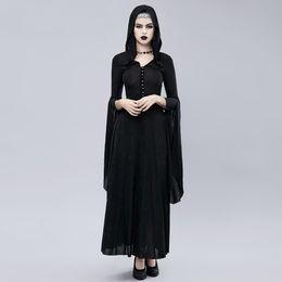 Vestidos cosplay vintage on-line-2018 Halloween Costume Mulheres Partido Cosplay Vestido Gothic Punk Dress