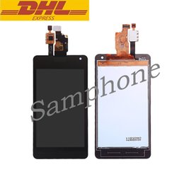 Wholesale Optimus G Digitizer - LCD Display For LG F180 E975 Screen Replacement Optimus G LS970 E971 E973 E975 Touch Screen Digitizer Assembly 4.7inch Cellphone Repair Part