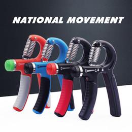 Tipos de ferramentas elétricas on-line-5-60Kg Tipo A Apertos Ajustáveis Pesados Mão Exercitador De Fitness Gripper Exercitador de Força de Pulso Mão Gripper Gym Power Fitness Ferramenta