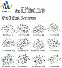 iphone plus screw Coupons - Screws Full Screw Set for iPhone 5S 6G 6s 6 7 7P 8 8 plus X Repair bolt Complete Kit Replacement Parts