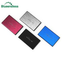 Wholesale Portable Laptop Hard Drive - Blueendless External Hard Drive HDD 2.5 500GB 2TB 1TB Laptop Hard Disk HD Disco Duro Externo Harddisk USB 3.0 Portable Storage