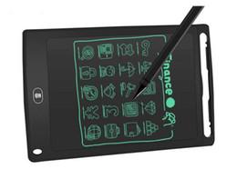 2019 benutzerdefinierte buchstaben zeichen 12 Zoll LCD-Schreibens-Tablette ultradünne digitale Zeichentablett-Handschriftauflagen tragbare elektronische Zeichenplatte mit Stift
