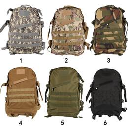 3501868bec08b trek rucksack Rabatt Große Kapazität Tactical Backpack 40   25 cm Wanderrucksack  Rucksack Outdoor Doppel Sack