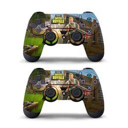 Отличительные знаки контроллера xbox онлайн-Игра Fortnite виниловые наклейки для Playstation PS4 контроллер ПВХ деколь кожи обложка для PS4 Slim Pro геймпад