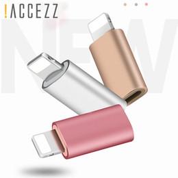 Micro mini luces online-! ACCEZZ Portátil Micro USB Para Adaptadores De Iluminación Para iPhone X XS XR 6 7 5 Plus Sincronizador Cargador OTG Mini Convertidor