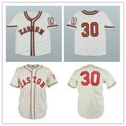 lennon l Promotion Le maillot de baseball Easton High School de John Lennon personnalisé de XS-6XL cousu n'importe quel nom ou nom gratuit