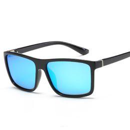 Beste fahren sonnenbrillen polarisiert online-Bester bequemer Weinlese-Mann-polarisierte Sonnenbrille HD TAC-Spiegel-reflektierende Marke UV400 UVschutz-Augen-Sonnenbrille-treibende Fischerei im Freien