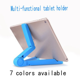 Wholesale Holder Mount For Ipad - 2018 Universal Mounts Folding Multifunction Phone desktop Mobile stand Cellphone Holder Tablet holder support for iPad holder for iphone