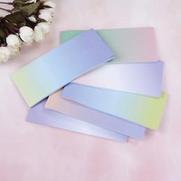 Rainbow memo pads en Ligne-Dessin Animé Arc-En-Gradient Coloré Notes Autocollantes Mémo Pads Décoration Autocollant N Autocollants Écriture Autocollants Étudiants