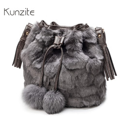 7a9b6e127f7e KUNZITE Leopard Bucket Bags for Women 2018 Winter Ladies Casual Shoulder  Crossbody Bag Warm Messenger Sling Bag for Fashion Girl