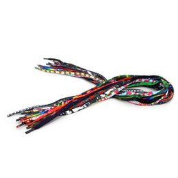 Wholesale 7mm wire - Braided rope bracelet Wire DIY Jewelry Findings Cord & Wire multiple colour 7MM Braided Bracelet shoelace Cord in stock
