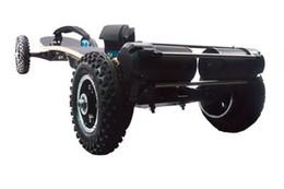 Contrôleurs à distance du moteur électrique en Ligne-Les planches à roulettes électriques de batterie de lithium de 4 roues électriques de moteur 1650W double avec la gamme de scooters de contrôleur à distance de 2,4 GHz s'étendent 20km