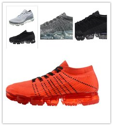Wholesale Round Weave - 2018 VaporMax ARI Weaving racer Ourdoor Athletic Sporting Walking Sneakers for Women Men Fashion pink Casual maxes 849558-002