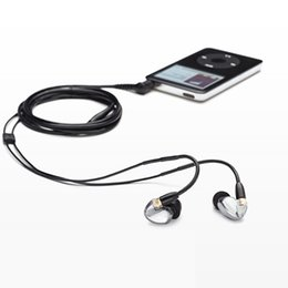 Wholesale Bluetooth Se - SE425 Earphone Headsets SE 425 in-ear Earphones 3.5mm With Retail Box hifi Perfect A+++ earphone DHL Shipping 5pcs
