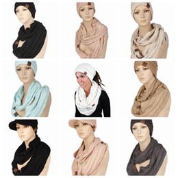 Kış Şapka Ve Eşarp Set CC Yün Bere Şapka Atkılar Moda Örme Sıcak Atkı Kadın Skullies Beanies Noel Hediyesi 13 Renkler YW1544 nereden saç tokmak şeritleri tedarikçiler