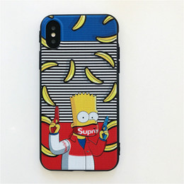 funny cases Coupons - Wholesale Creative Funny Designer Phone Case for IphoneX Iphoen9 7Plus 8Plus 7 8 6 6sPlus 6 6s Protective Back Cover Phone Case 4 Styles