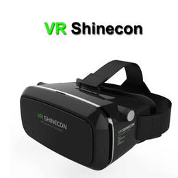 2019 google cardboard 2017 VR shinecon Pro Version Google Cardboard VR Virtual Reality 3D Glasses +Smart Bluetooth Wireless Remote Control Gamepad скидка google cardboard