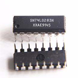 5 PZ HD74LS283P DIP 74LS283 DIP16 SN74LS283N DM74LS283N nuovo e originale IC spedizione gratuita da