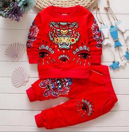 Ragazzi da bambini online-Marchio bambini ragazzo casual Tute Abbigliamento infantile abbigliamento per bambini set abbigliamento sportivo per bambini baby boy Tuta sportiva