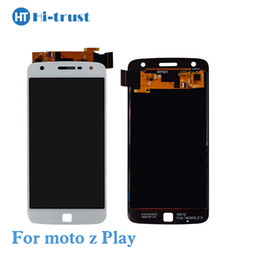 Wholesale new display for mobile phone - New Arrival For Motorola MOTO Z Play Droid XT1635 X1650 LCD Display with Touch Screen Digitizer Assembly Mobile phone replacement parts