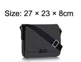 Dimensioni delle borse scolastiche online-DISTRICT PM Alta qualità nuovo 2 formato famoso marchio classico designer moda uomo messenger borse cross body bag sacchetto di scuola bookbag a tracolla