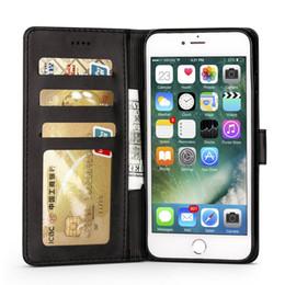 tampa da tampa iphone6 Desconto Luxo leather flip case para apple iphone 6 6 s plus tampa do telefone carteira protetora iphone 6 s com cartões de crédito coque para iphone6