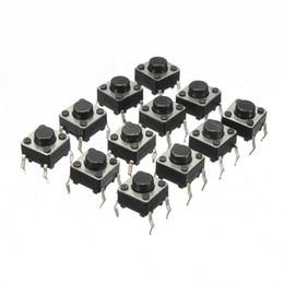 Interruttore a pulsante online-100 pz Mini Micro Momentary Touch tattile Interruttore a pulsante DIP P4 normalmente aperto