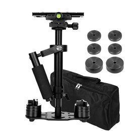 stabilisateur vidéo pour dslr Promotion Stabilisateur de caméra professionnel S40 Steadicam 15.7
