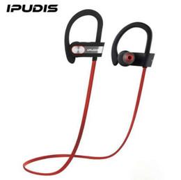 IPUDIS Garantie de 1 an Sports Bluetooth Écouteurs IPX7 Étanche Casque Crochet D'écouteur Casque Sans Fil Écouteurs avec MIC 110mAh ? partir de fabricateur