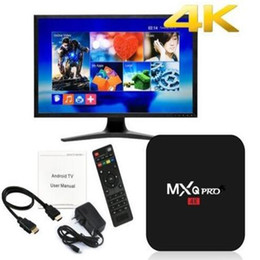 MXQ Pro Rockchip RK3229 четырехъядерный Android 7.1 tv box 1G/8GB 2.4 G Wifi с розничной упаковке от Поставщики hd media box iptv