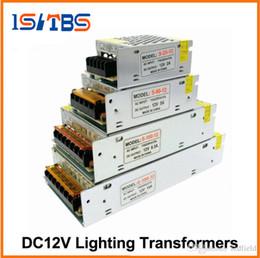 3528 cavo di alimentazione principale Sconti Trasformatori per illuminazione DC12V Driver luci LED di alta qualità per alimentatore LED Strip 60W 100W 200W 300W.