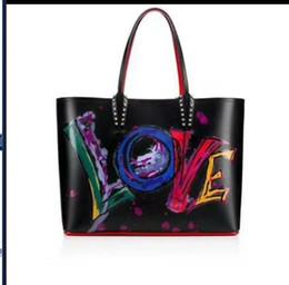 2020 кошельки бренды красные Новых cabata дизайнерских сумок тотализаторы красной нижние композитов сумка известных бренд плечо сумка неподдельная кожа кошелек сумка черные дешево кошельки бренды красные