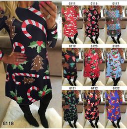 2019 weihnachtsröcke für frauen 2018 neue Weihnachtsferien Frauen verkleiden sich Santas Weihnachtsbaum gedruckt X'mas Day Cosplay Röcke Dhl schnelles Verschiffen günstig weihnachtsröcke für frauen