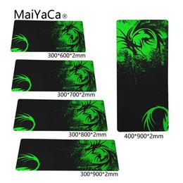 MaiYaCa Green Design originale 800x300cm pad per Mouse Notbook Computer Mousepad Gaming pad mouse più economico per 90x30cm da ce guarda fornitori