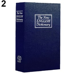Wholesale Plastic Book Storage - Home Security Dictionary Book Cash Jewelry Valuables Safe Storage Key Lock Box