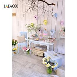 Laeacco Primavera Huevos de Pascua Decoración Interior de Pared de Madera Fondos de Fotografía Fondos Fotográficos Personalizados Para Estudio Fotográfico desde fabricantes