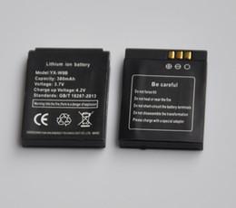 смотреть x6 Скидка 1-5 ШТ. 380 мАч Литий-Ионная Литий-Полимерная Батарея Резервного Копирования Замена для gt08 DZ09 A1 W8 V8 X6 умные часы