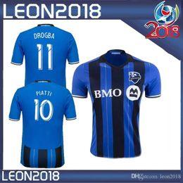 Thai quality 2018 Montreal Impact soccer jersey 18 19 PIATTI DROGBA EDWARDS football  jerseys shirt Camiseta de futbol 3847941c7